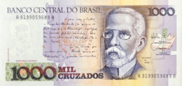 Brazil 1.000 Cruzados, P-213b (1987) - UNC - Brésil
