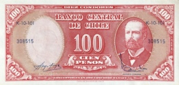 Chile 10 Centesimos, P-127 (1960) - UNC - Cile