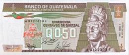 Guatemela 1/2 Quetzal, P-65 (6.1.1988) - UNC - Guatemala