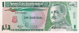 Guatemela 1 Quetzal, P-73a (3.1.1990) - UNC - Guatemala