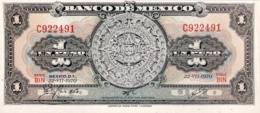 Mexico 1 Peso, P-59l (22.7.1970) - UNC - Serie BIN - Mexico