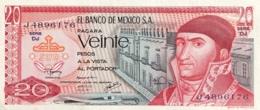 Mexico 20 Pesos, P-64d (8.7.1977) - UNC - Serie DJ - Mexico