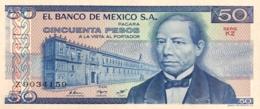 Mexico 50 Pesos, P-73 (27.1.1981) - UNC - Serie KZ - Mexico