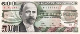 Mexico 500 Pesos, P-79b (7.8.1984) - UNC - Serie EB - Mexico