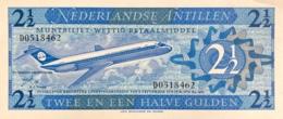 Netherland Antilles 2 1/2 Gulden, P-21 (8.9.1970) - UNC - Antille Olandesi (...-1986)