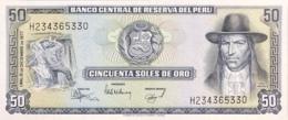 Peru 50 Soles De Oro, P-113 (15.12.1977) - UNC - Perù