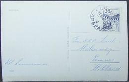 Yugoslavia - Postcard To Holland 1960 Dam 20D Solo - 1945-1992 République Fédérative Populaire De Yougoslavie