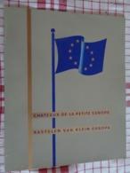 Jubilé : Album II Kastelen Van Klein Europa - Chateaux De La Petite Europe - Bauchbinden (Zigarrenringe)