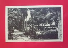 AVOLA - INTERNO GIARDINO PUBBLICO. - Siracusa