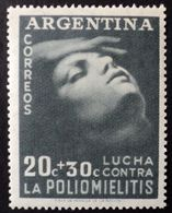 1985 ARGENTINA ARGENTINE Mnh - Lucha Contra Poliomelitis Polio Medicine- Poliomyelitis Poliomyélite - Unused Stamps