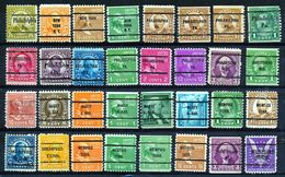 U.S.A. -  32 PRECANCELS  - Selection Nr 374 - United States