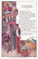 Chromo - Grand Format-publicité Chicorée WILLOT -fable De La Fontaine -le Laboureur Et Ses Enfants-(lot Pat 117 - Old Paper