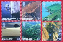 British Journey SW England Lanscapes (Mi 2274-2279) 2005 POSTFRIS MNH ** ENGLAND GRANDE-BRETAGNE GB GREAT BRITAIN - 1952-.... (Elizabeth II)