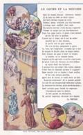 Chromo - Grand Format-publicité Chicorée WILLOT -fable De La Fontaine -le Coche Et La Mouche-(lot Pat 117 - Old Paper