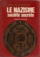 Le Nazisme Societe Secrete Werner Gerson  +++TBE+++ LIVRAISON GRATUITE - Esotérisme