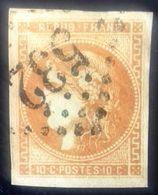 Emission De Bordeaux Oblitérée, Numéro 43. - 1870 Bordeaux Printing