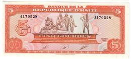 HAITI5GOURDES1989P246UNC.CV. - Haiti