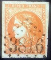 Emission De Bordeaux Oblitérée, Numéro 48. - 1870 Bordeaux Printing