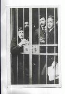 RARE - PARIS - Janvier 1909 - A LA SANTE. Derrière Les Barreaux : Maxime REAL DEL SARTE Et Marius PLATEAU - People