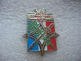 Pin's Bleu Blanc Et Rouge Pour Les Anciens Combattants AFN - Militair & Leger