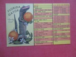 Florida > Gator   Quicky Card   Ref 4284 - Etats-Unis