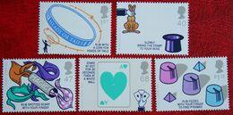 Magic Tricks Circle  (Mi 2286-2290) 2005 POSTFRIS MNH ** ENGLAND GRANDE-BRETAGNE GB GREAT BRITAIN - 1952-.... (Elizabeth II)