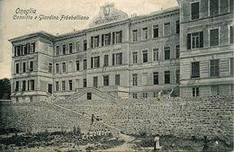 Oneglia * Convitto E Giardino Fröebelliano * Oneille Imperia Liguria Italia - Imperia