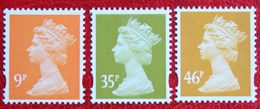 Machin QE II Definitives 9p 35p 46p (Mi 2295-2297) 2005 POSTFRIS MNH ** ENGLAND GRANDE-BRETAGNE GB GREAT BRITAIN - 1952-.... (Elizabeth II)