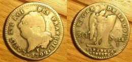 Louis XVI - 30 Sols 1792I - 1789-1795 Periode Franse Revolutie