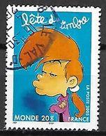 FRANCE   -   2005 .  Y&T N° 3753 Oblitéré.  CACHET ROND .   TITEUF  /  NADIA   /  Bande Dessinée   ZEP - France