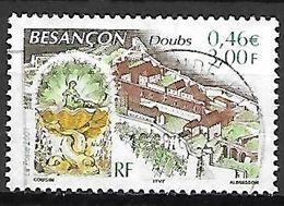 FRANCE   -   2001 .  Y&T N° 3387 Oblitéré.  CACHET ROND .  BESANCON  /  DOUBS - France
