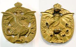 Militaria-UK-GB-Terre-Insigne_fastinod C4 1614 - Armée De Terre