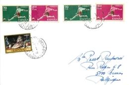 Espagne. 7 Documents Thème Football (soccer) - Lettres & Documents