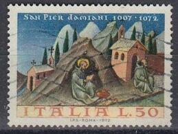 ITALY 1375,used,Christmas 1972 - Christmas