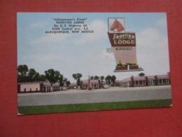 Highway 66  Frontier Lodge    New Mexico > Albuquerque   Ef 4284 - Albuquerque
