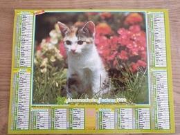 Calendrier-Almanach Des Postes P.T.T.     1992     Eure - Grand Format : 1991-00