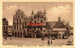 Mechelen - Stadhuis En Halle - Mechelen