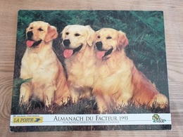 Calendrier-Almanach Des Postes P.T.T.     1993     Eure - Grand Format : 1991-00