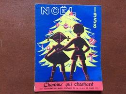PROGRAMME  C.A.S. De PARIS  Fête Centrale  CHAPITEAU DES FRÈRES BOUGLIONE  Arbre De Noel 1958 - Programmi