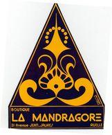 Autocollant Boutique La MANDRAGORE 31 Avenue Jean-Jaures 16 Ruelle - Stickers