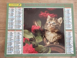 Calendrier-Almanach Des Postes P.T.T.     1997     Eure - Grand Format : 1991-00