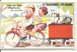 TIENS TOI BIEN MIGNONNE... CARTE SYSTEME - Chamonix-Mont-Blanc