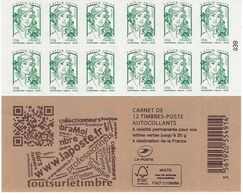 858-C12: CARNET MARIANNE DE CIAPPA - Markenheftchen