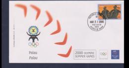 Palau FDC 2000 Sydney Olympic Games (NB**LAR9-167) - Verano 2000: Sydney