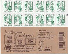 858-C14: CARNET MARIANNE DE CIAPPA - Markenheftchen