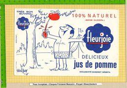 BUVARD : Delicieux Jus De Pomme FLEURJOIE - Softdrinks