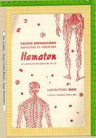 BUVARD : Pharmacie : Toutes Depressions  HEMATON  Laboratoire DEXO - Produits Pharmaceutiques