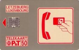 TARJETA TELEFONICA DE LUXEMBURGO. SC01-D (013) - Lussemburgo
