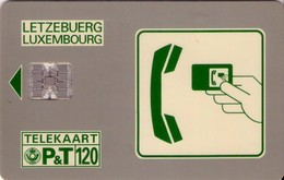 TARJETA TELEFONICA DE LUXEMBURGO. SC03 (015) - Lussemburgo