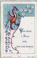 IMAGE PIEUSE / CANIVET /HOLY CARD / ED. BONAMY EDIT. PONTIF. POITIERS - Images Religieuses